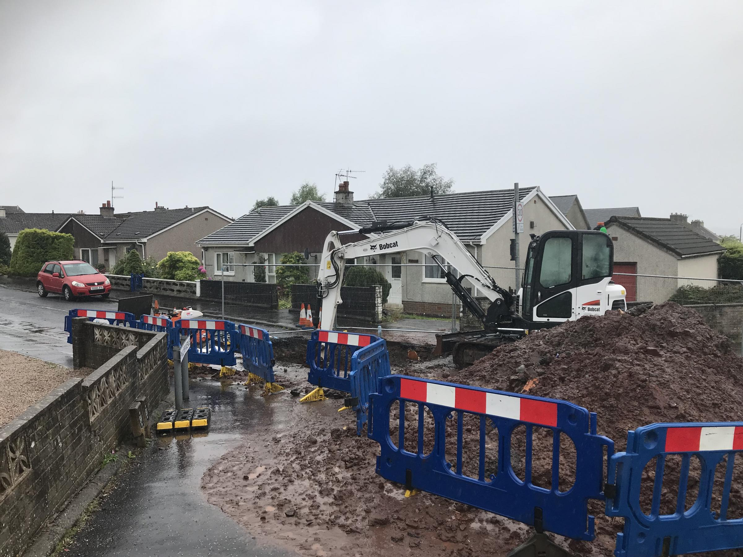 Water shock for Largs residents