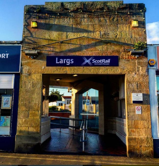 Major disruption to trains from Largs and Wemyss Bay to Glasgow