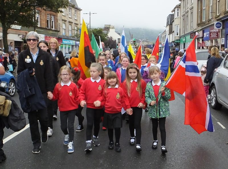 Largs Girls Brigade year is on the march again!