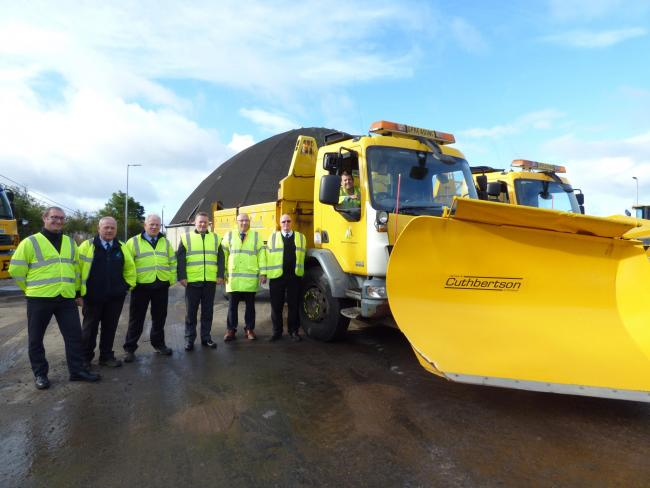 Snow gritters now on stand-by in Largs and North Ayrshire