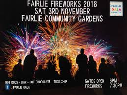 Fairlie Fireworks display this Saturday