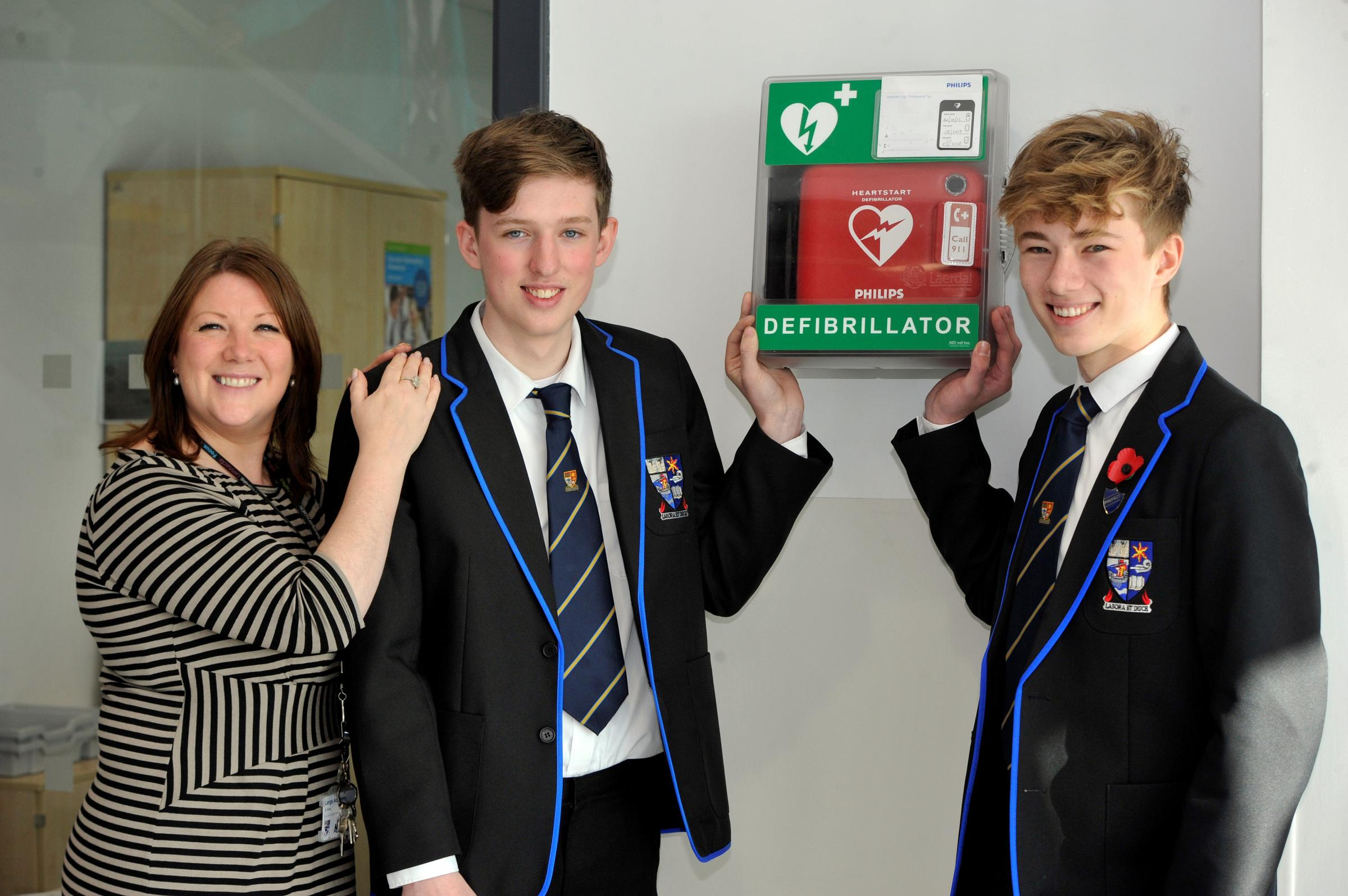 Largs pupils hailed heroes after saving man's life
