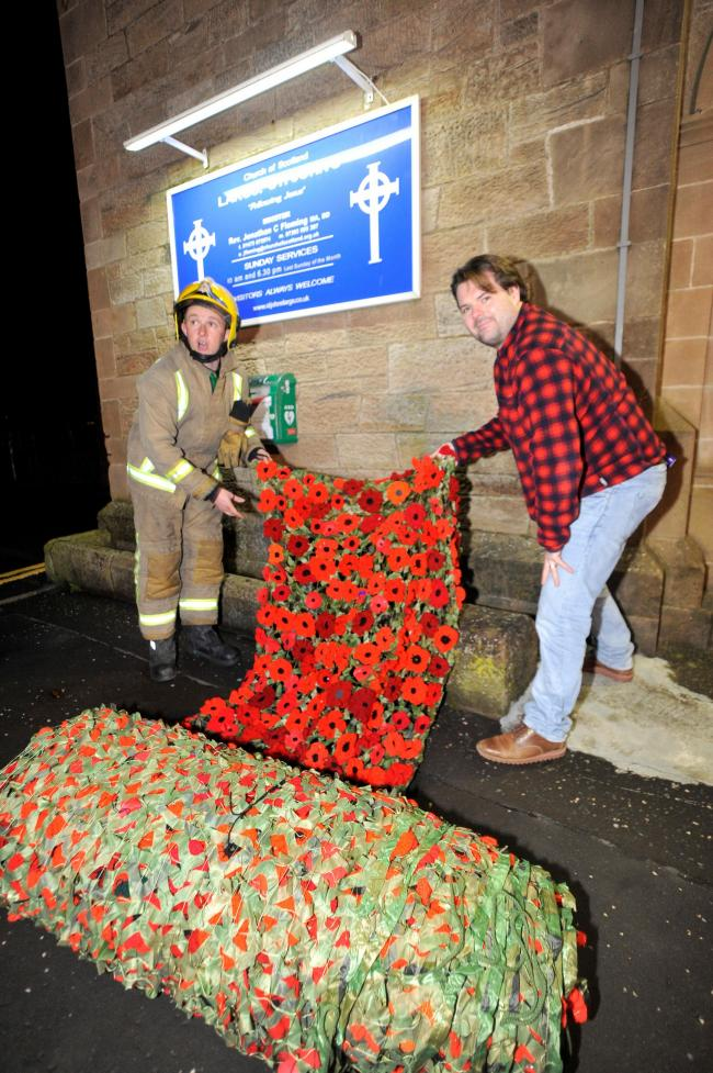 St John's Church tribute in Largs in full bloom