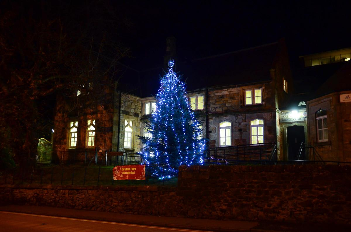 Fairlie tree lighting ceremony