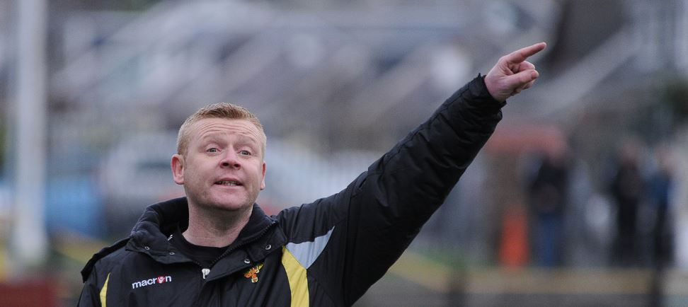 Thistle boss eyes up first part of Auchinleck challenge