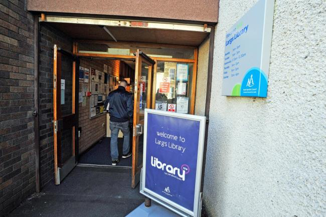 Largs library.