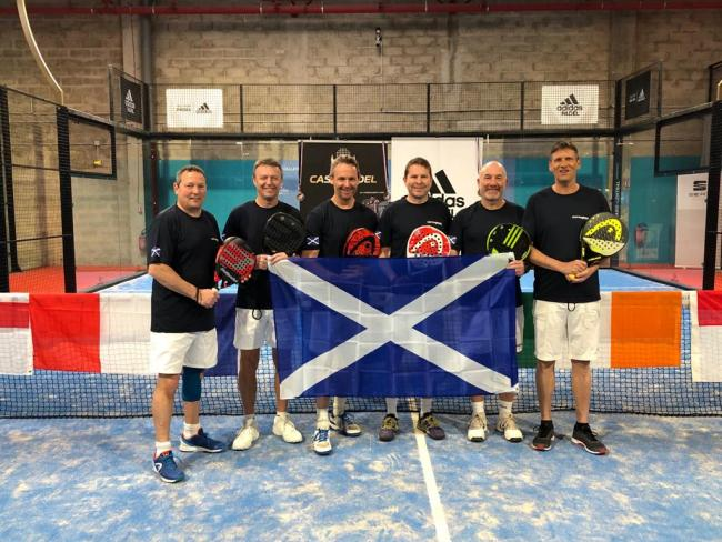 Padel in Paris for Largs and West Kilbride hot shots