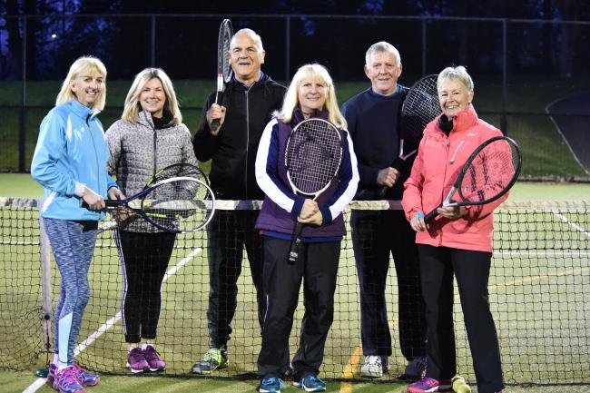 Free to enter American tennis tournament at Largs