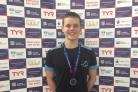 Fraser's double medal swimming success at Nationals