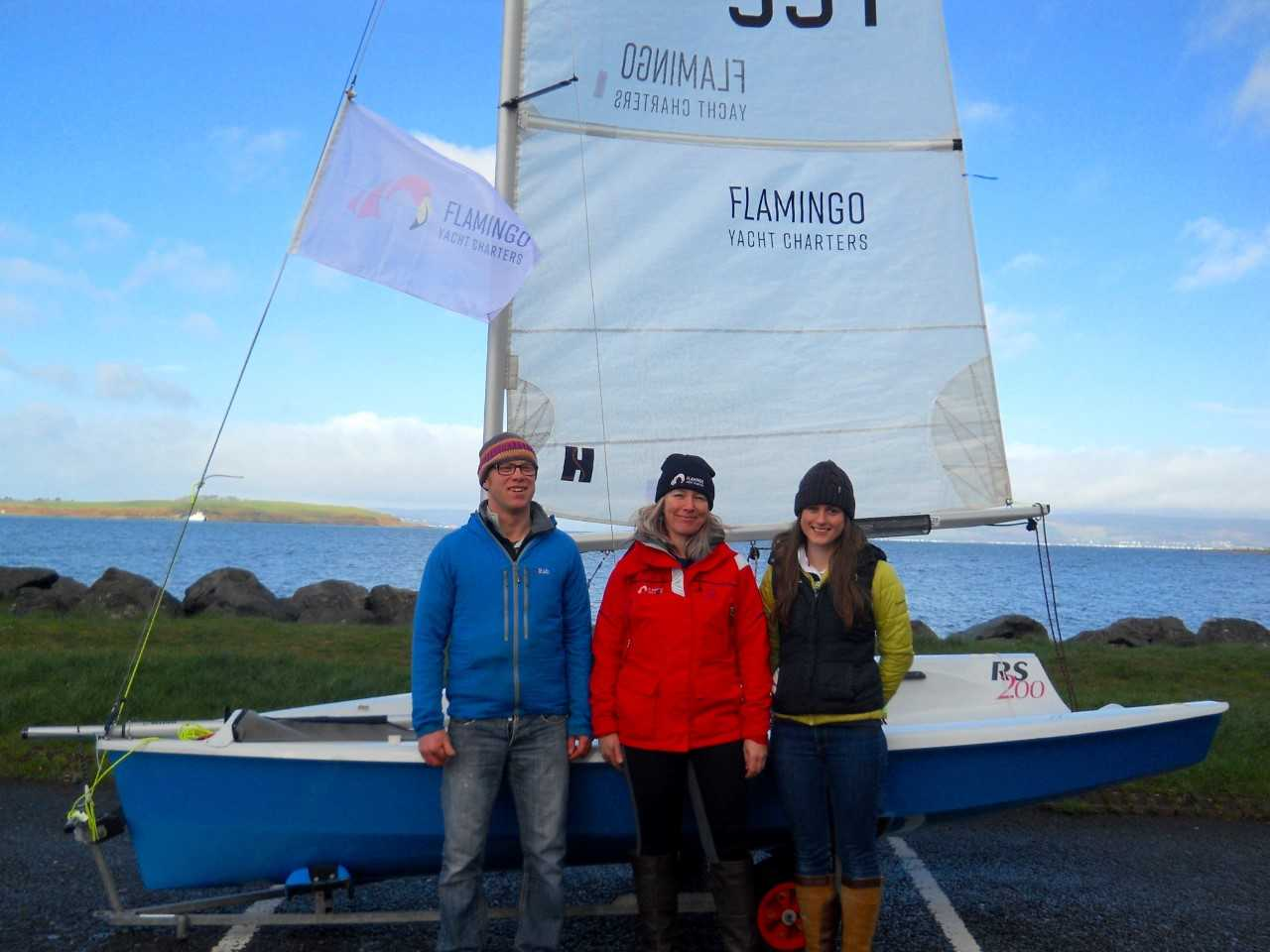 West Kilbride sailing duo have eyes on the prize after sponsor deal