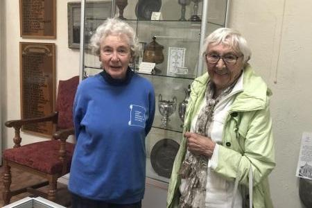 Largs Historical society volunteers